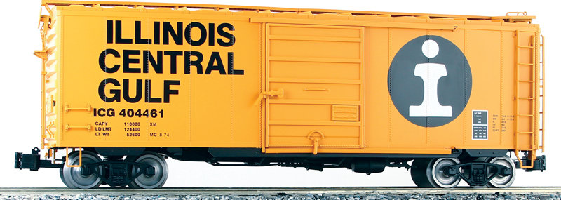 G401-07X PS-1 Box Car -Illinois Central Gulf, 1 car