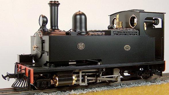 S19-26B W&L No.14  2-6-2T, Black, Live Steam