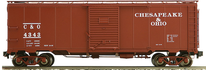 AM32-556X AAR Box Car - C&O Chesapeake & Ohio, 1 car