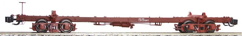 AM32-156X Long Logging Car - Swayne, New, 1 car