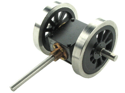 AP14-108 Gear Box w/ Wheels - 1:20.3 K-28