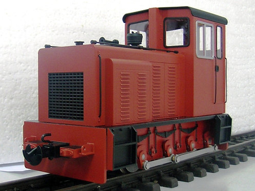 E19-1R Baguley Drewery 0-6-0 Diesel, Red, Electric
