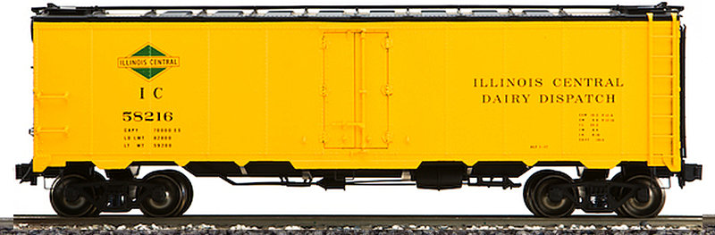 AM32-513X PFE Reefer - Illinois Central Dairy Dispatch, 1 car