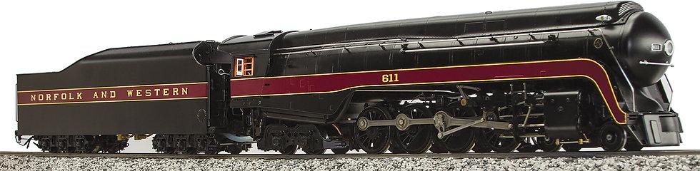 AL98-375 N&W J-class #611 4-8-4, Electric