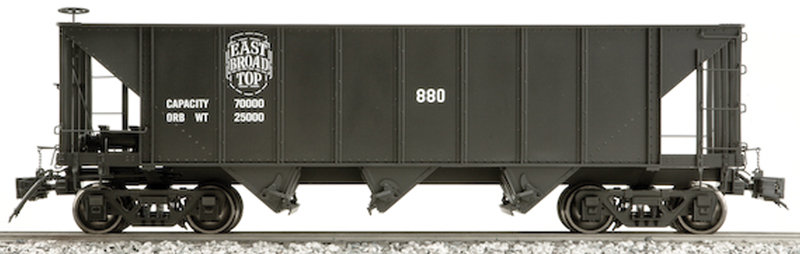 AM20-308X 3-Bay Hopper - E.B.T. East Broad Top, 1 car