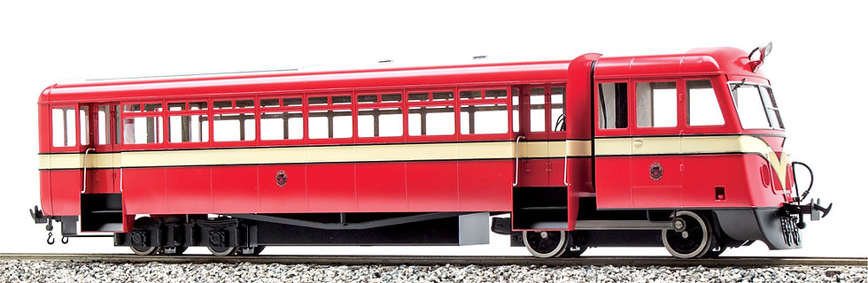 Accucraft UK - County Donegal / Isle of Man Diesel Railcar (1:20.3 Scale)