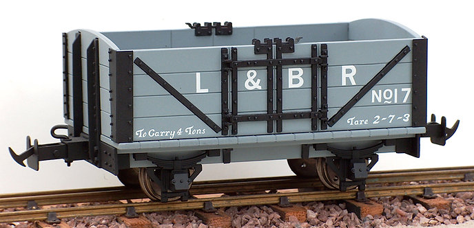 R19-1EC L&B Open Wagon, L&BR Grey #17