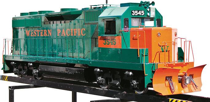 """T775-11 GP40 Diesel, 24V DC, Gray, Unlettered,  7 1/2"""" Gauge"""