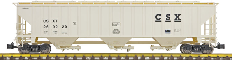 G431-02X 3-Bay Covered Hopper -  CSX, 1 car