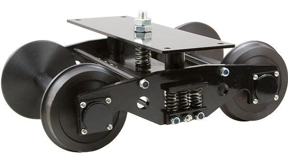 """T514-01 1 1/2"""" Scale, 4 3/4"""" Gauge, Trucks, Steel (2)"""