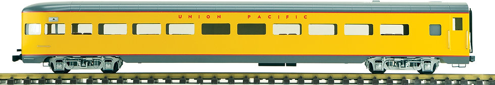 Union Pacific, Yellow, Observation Car, 1 car, AL34-376