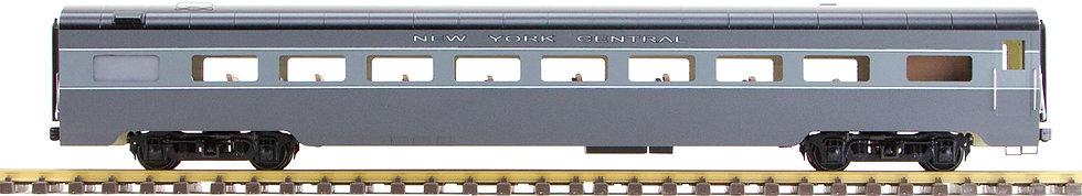 New York Central, Gray, Coach, 1 car, AL34-314