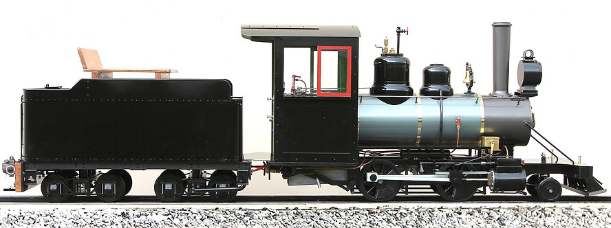 """T795-02 2-4-0 with Tender, Coal Fired, 7 1/4"""" Gauge"""