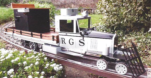 """T773-07 RGS Goose #6, 24V DC, 7 1/4"""" Gauge"""