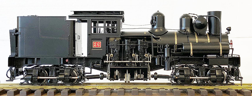 AL88-347AO  Alishan Forest Railway 28-Ton Shay, No Sound, Electric, (Open Box)