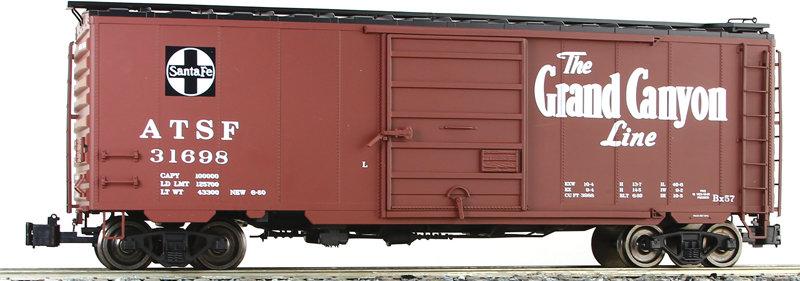 G401-10D PS-1 Box Car - Santa Fe, Grand Canyon #31698, 1 car