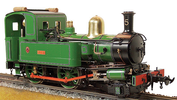 S20-9G Mona #5 IoM 2-4-0T, Green, Live Steam