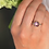 Thumbnail: AMETHYST PAVE WHITE SAPPHIRE RING