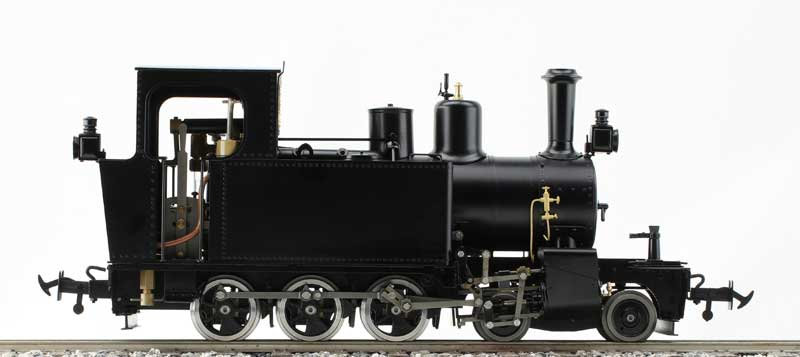 Accucraft UK - WD Hunslet 4-6-0T (1:19)