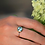 Thumbnail: TOPAZ PAVE WHITE SAPPHIRE RING