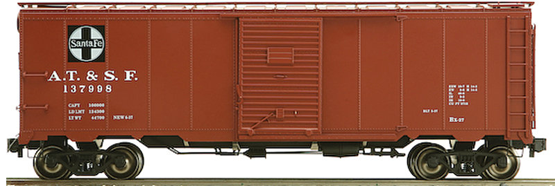 AM32-557X AAR Box Car - ATSF Santa Fe, 1 car