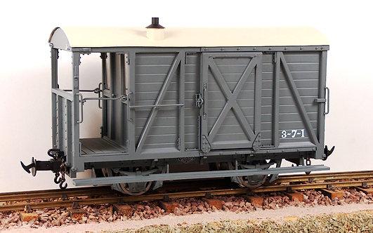 R19-6C W&L Brake Van GW Dark Grey, Data Only