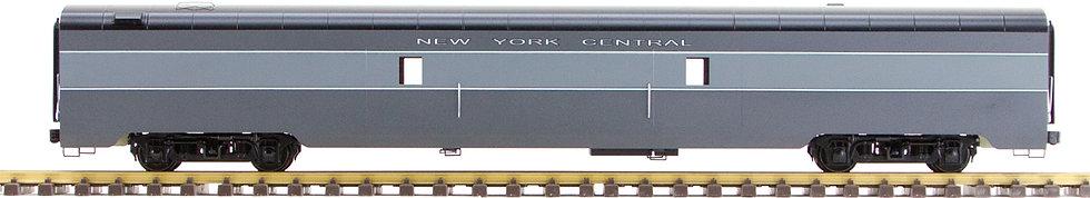 New York Central, Gray, Baggage Car, 1 car, Al34-324