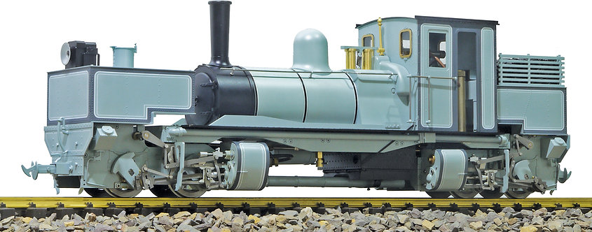S19-28C Tasmanian K1 Garratt 0-4-4-0 Works Grey, Live Steam