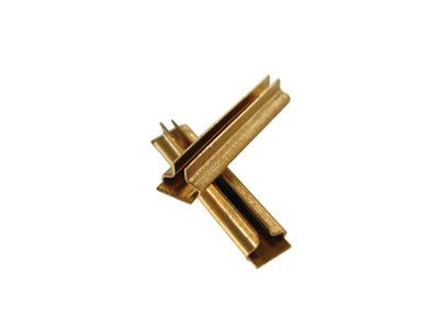 AM39-105 Rail Joiners, Code 250 Brass (12)