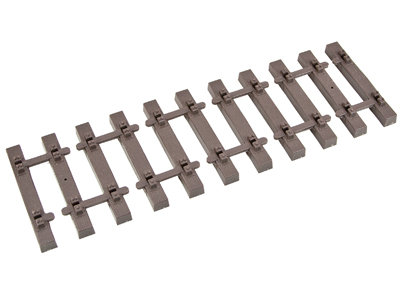 G202-04 1ft Ties, Code 332, Euro Narrow Gauge (48)