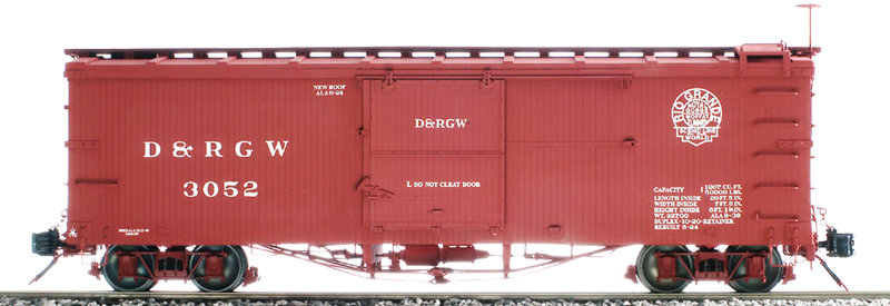 AM2201-11 Box Car - D&RGW Moffat Logo #3422, 1 car