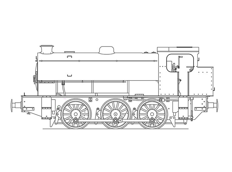 "MaxiTrak - J94 Austerity 0-6-0 (5"" Gauge)"