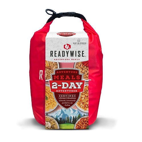 READYWISE 2 DAY ADVENTURE KIT WITH DRY BAG