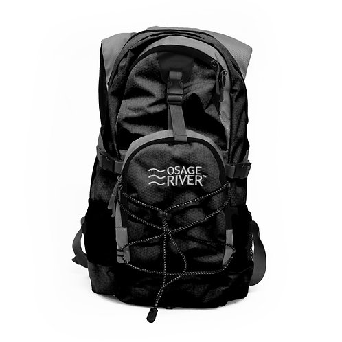Osage River Drake Hydration Pack - Black/Gray