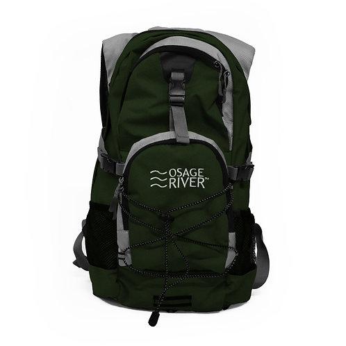 Osage River Drake Hydration Pack - Olive/Gray