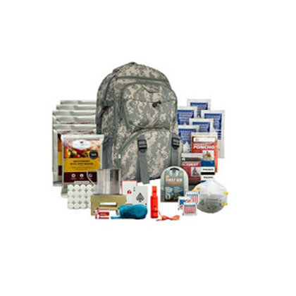 Wise Foods 5 Day Survival Backpack (Camo or Red)