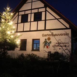 Kelterhaus in der Weihnachtszeit