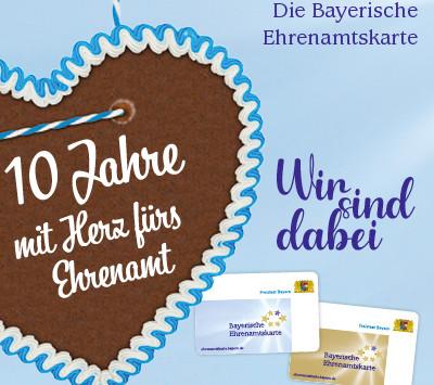 Die Bayerische Ehrenamtskarte feiert 10. Geburtstag