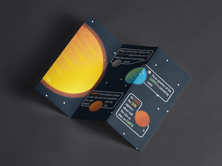 Solar System Facts Brochure: Back