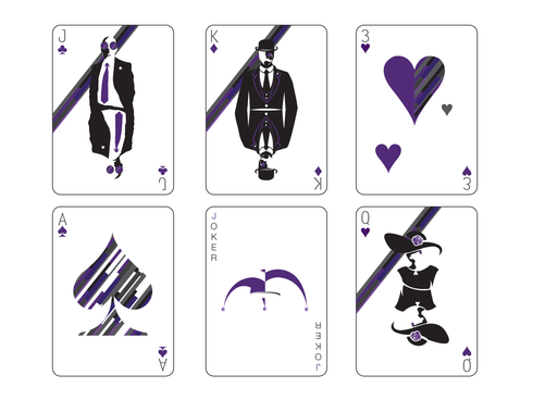 Playing Cards: Front