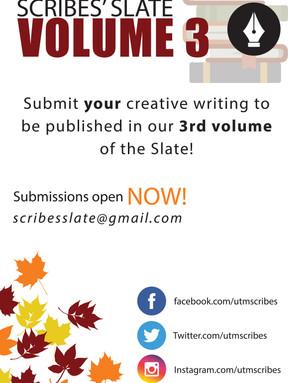 Scribe's Slate Volume 3