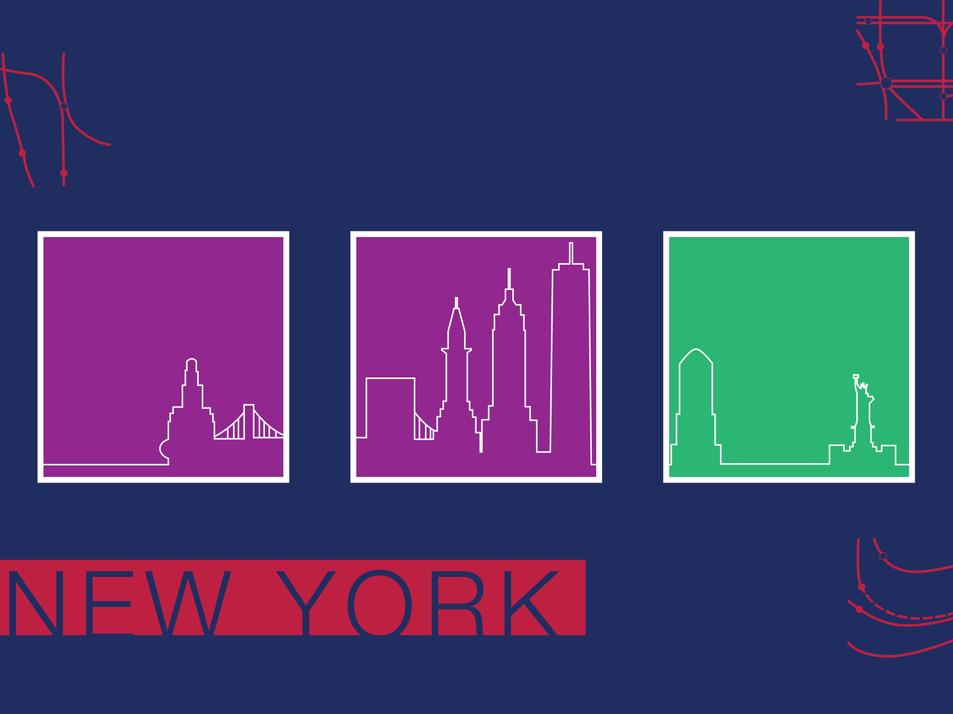 New York Postcard: Front