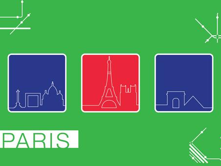 Paris Postcard: Front