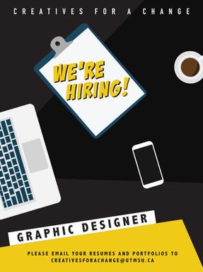 Now Hiring: Graphic Designer