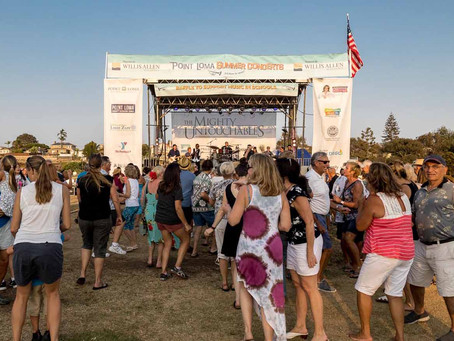 Point Loma Summer Concert's Fall Back Funk Forward Concert Coming to Point Loma on October 2