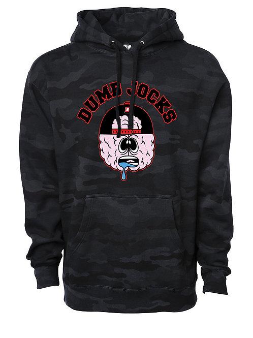 Dumb Jocks OG Logo Camo Hoodie