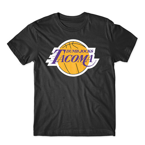 Dumb Jocks Tacoma (lakers) tee
