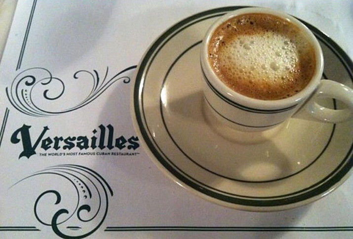 Versailles Cuban Restaurant Will be Giving Away Free Cafecito All Day Today.