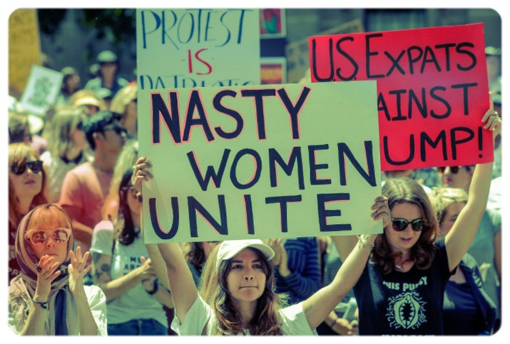 Several Feminist Protests Planned Today Across South Florida.