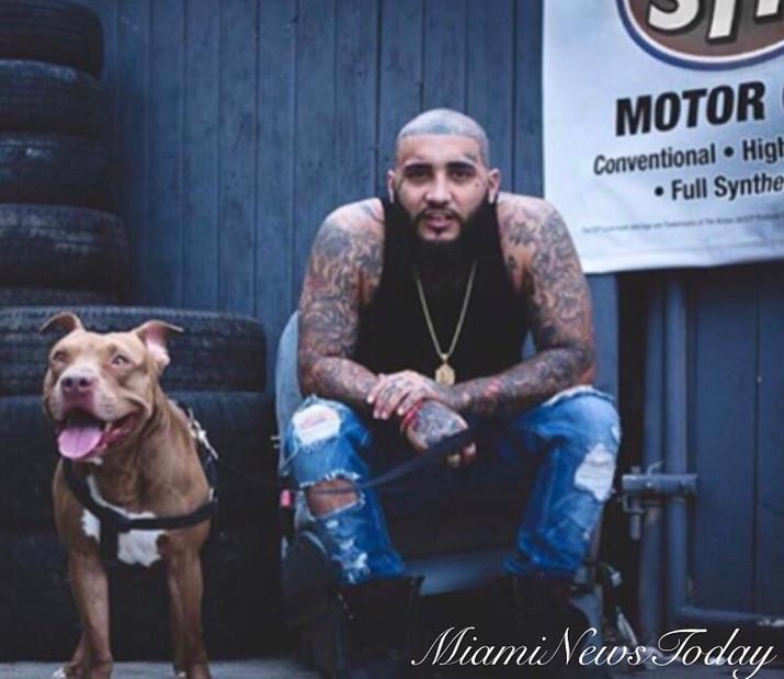 Upcoming Miami Rapper Vice.